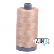 Aurifil 28 Cotton Thread - 2314 (Taupe)
